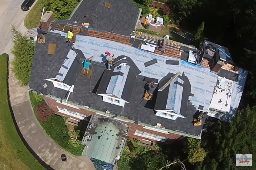 Drone Roofing DJI